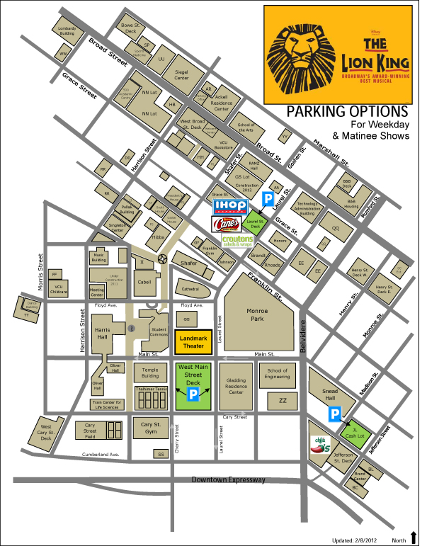 Traffic Advisory Parking Recommendations Broadway In Richmond